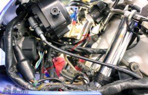 キーシリンダー ワイヤリング-2