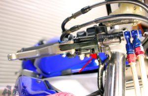 フロントブレーキランフロントブレーキランプスイッチ位置確認-2プスイッチ位置確認-2