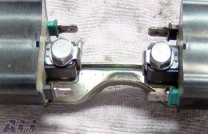 イグニッションコイル 端子 グリス塗布後2