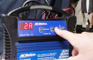 バッテリー 電流ボタン 押す2