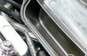 エアクリーナーボックス ブローバイ 固まり 除去2