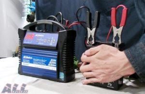 バッテリー 温度測定