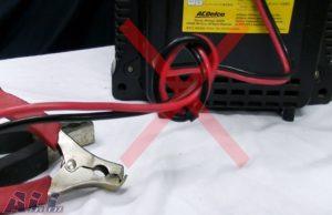 バッテリー 充電器 配線 ダンゴ2