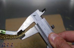 真鍮ブラシ 毛先 5mm