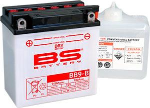開放型バッテリー BB9-B